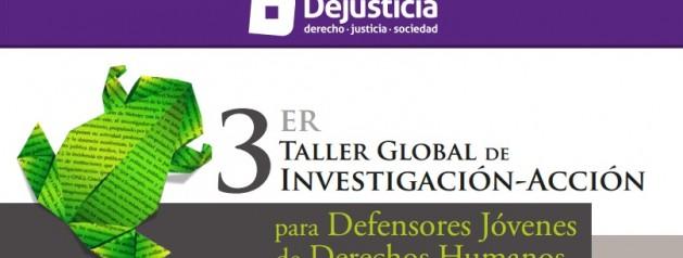 Convocatoria Tercer Taller de Investigación-Acción